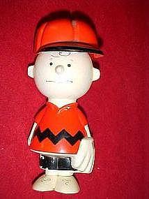 Vintage Avon Charlie Brown shampoo container