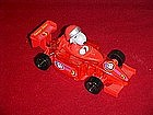 Peanuts, Snoopy race car driver, candy container
