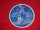 Mini plate, Denmark, Hans Christian Anderson statue