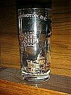 Washington DC souvenir glass, famous sights to see