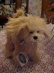 Cottage Collectibles, Higgins stuffed dog, by Ganz