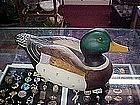 Porcelain Mallard duck figurine