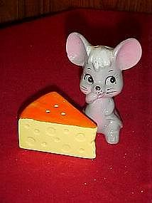 Mouse and cheese go with, salt and pepper shakers
