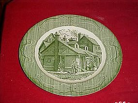 Royal China, The old curiosity shop, Dinner plate