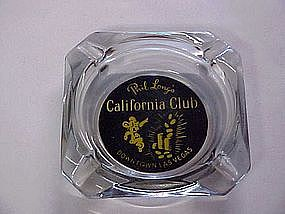 Phil Long's California Club ,casino ashtray