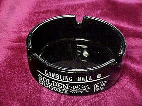 Golden Nugget, amethyst casino souvenir ashtray