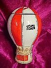 O.B.R. hot air balloon  whiskey decanter 1969
