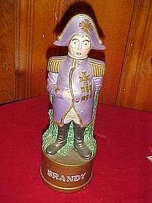Napoleon figural brandy decanter