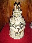 Rabbit with babies, Japan cookie jar