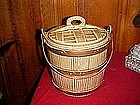 McCoy oaken bucket cookie jar