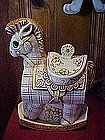Treasure Craft Hobbie Horse cookie jar