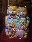 Goldilocks and the Three Bears cookie jar, J C Penny's