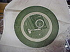 """Royal China Colonial Homestead butter plate 6 1/2"""""""
