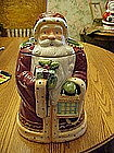 Old world Santa cookie jar made for Nonni's