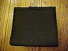 Classic little black evening bag