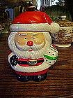Little Santa Claus cookie / treats  jar