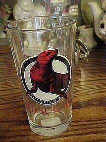 Ruedrich's Red Seal Ale, beer glass