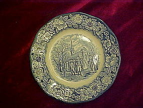 "Liberty Blue 7"" salad plate, Washington, Christ Church"