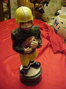 musical decanter, football player