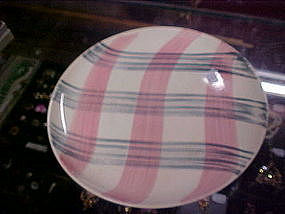 Stetson Scots Clan, plaid dinner plates