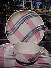 Stetson Scots Clan, plaid cup and saucer set