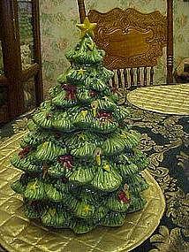 Christmas Tree Cookie jar