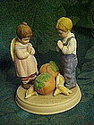 "Avon, ""Giving Thanks"" figurine by Jessie Wilcox Smith"