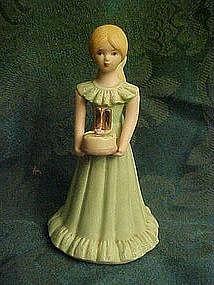 Enesco Growing up girls, Birthday # 11 blond figurine
