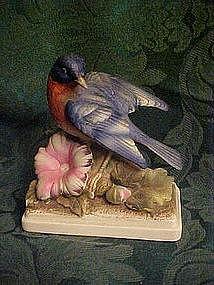 Lefton KW64 blue Bird figurine