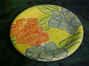 Bella Ceramics, flora pattern salad plates