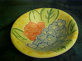 Bella Ceramics, Flora pattern soup/cereal bowls