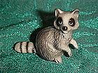 Hagen Renaker raccoon figurine