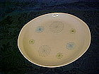 Atomic fireworks platter / chop plate by Stetson China