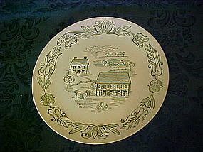 Wayne County pattern dinner plate, Royal China