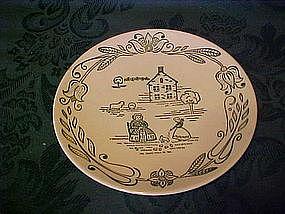 Wayne County pattern, bread & butter plate, by Royal
