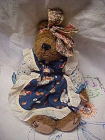 "11"" Boyd's Bear, country girl attire"