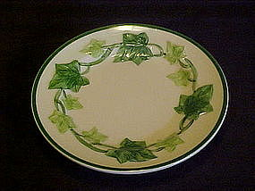 Franciscan ivy bread and butter plate 6 3/8""