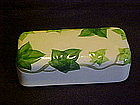 Franciscan ivy  1/4 lb butter  dish cover