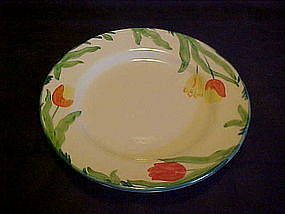 Franciscan Tulip dinner plate, England