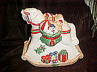 Hobbie horse cookie jar for Christmas