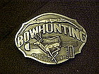 Bow hunters belt buckle, Siskiyou Buckle co.