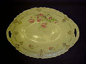Large  ornate oval Victorian style serving bowl