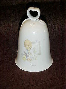Enesco Precious Moments month of June porcelain bell