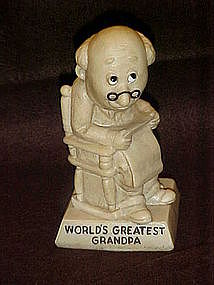 Berries sentiment figurine, World's Greatest Grandpa