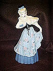 Weil Ware of California large figurine, blue dress