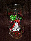 Holly Hobbie limited edition Coke glass, Christmas