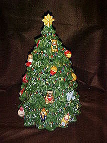 Christopher Radko Christmas tree cookie jar