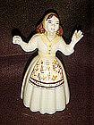 Ceramic Arts Studio Pioneer Susie figurine, brown hair