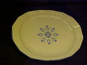 "Harkerware Blue Dane 11 1/2"" oval  platter"