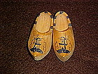 Little wooden Dutch shoes from Holland